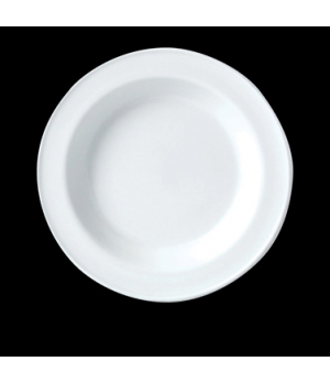 "Soup Plate, 12.9 oz., 8-1/2"" dia., round, vitrified china, Performance, Plain Iv"