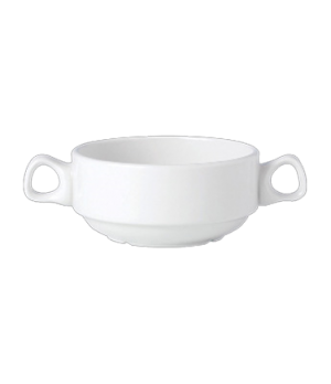 Soup Cup, 10 oz., double handled, stackable, vitrified china, Performance, Ivory