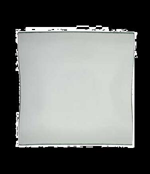 "Plate, 8-1/4"" x 8-1/4"", glass, Cera"