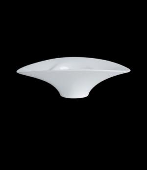 "Miska Bowl, 2 oz., 7-3/8"" x 4-3/8"" x 1-5/8"", oval, (0609), porcelain, Crucial De"
