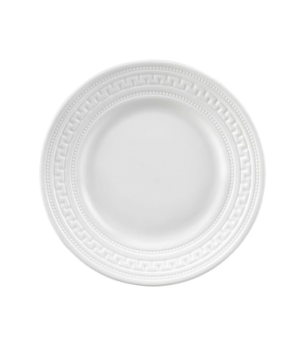 Intaglio B&B Plate, dishwasher safe, bone china, white