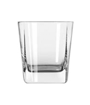 Double Old Fashioned Glass, 9-1/4 oz., square base, Quartet