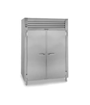 Spec-Line Heated Cabinet, Pass-Thru, Two-Section, stainless steel exterior, alum