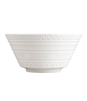 Intaglio All Purpose Bowl, dishwasher safe, bone china, white