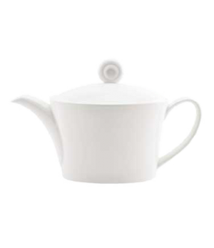 (0147) Fusion Teapot, 11 oz. (33.0 cl), small, embossed lid, bone china, microwa
