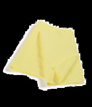 """Hygen™ Bathroom Cloth, 16"""" x 16"""", microfiber, yellow"""