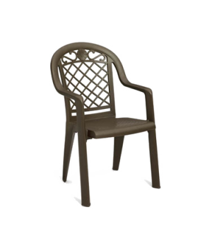 Savannah Highback Stacking Armchair, designed for outdoor use, Kevring® resin w