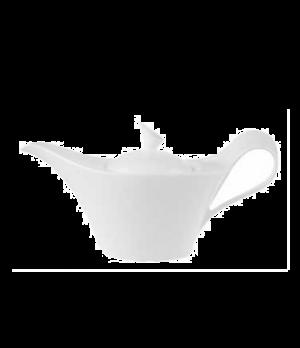 Teapot, 41 oz., premium bone porcelain, New Wave Premium (Special Order)