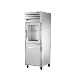 SPEC SERIES® Refrigerator, Reach-in, one-section, stainless steel front/sides, (