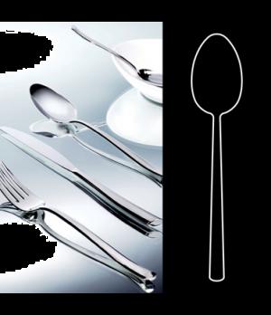 "Serving Spoon, 9-1/4"", stainless steel, La Tavola, Yuki (USA stock item) (minimu"