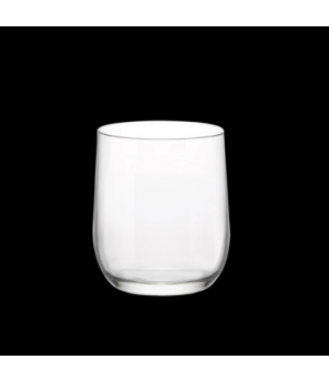 Double Old Fashioned Glass, 13-1/2 oz., laser cut, non-lead, crystal, dishwasher