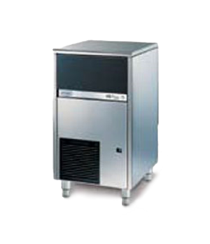 Brema Undercounter Ice Maker, air-cooled, self-contained, cube style, 35 lb. sto