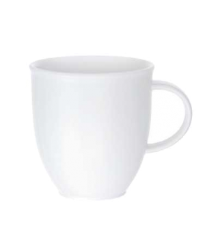 Mug, 10-1/4 oz., premium porcelain, Corpo White