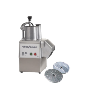 Commercial Food Processor, vegetable prep attachment with kidney shaped & cylind