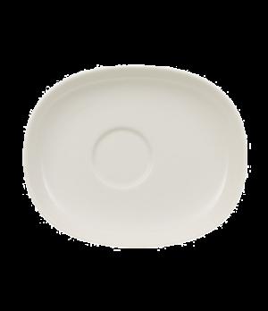 "Saucer, 6-1/2"" x 5-3/8"", premium porcelain, Urban Nature"