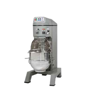 Planetary Mixer, 80 qt., floor model, 4 fixed-speed, #12 hub, includes: stainles