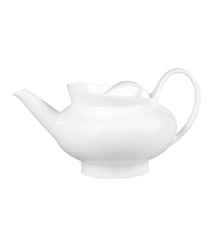 Ethereal Teapot, with lid, dishwasher safe, bone china, white (packed per case,