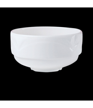 Soup Cup, 10 oz., stacking, unhandled, Distinction, Bianco, Bianco White (Canada