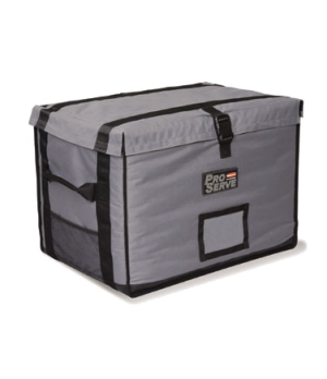 "PROSERVE™ Insulated Carrier, 28""L x 19-1/4""W x 19-1/2""H, holds (5) 2-1/2"" or (3)"