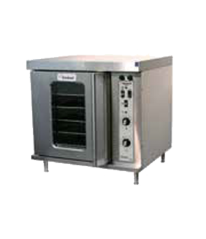 Convection Oven, electric, half-section, single deck, Master 200 solid state con