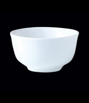 "Sugar Bowl/Bouillon, 8 oz., 4""W x 2-1/4""H, Distinction, Monaco, Monaco White (Ca"