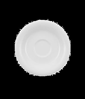 "Saucer, 5-1/8"" (Cup OCR's -1450/51) premium porcelain, Sedona"