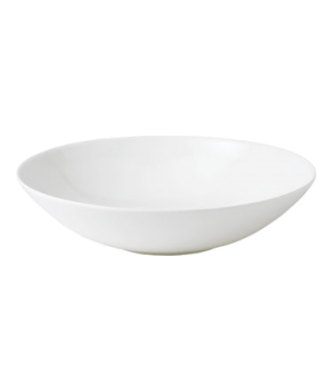 "Jasper Conran Pasta/Soup Bowl, 9"" dia., round, dishwasher safe, bone china, whit"