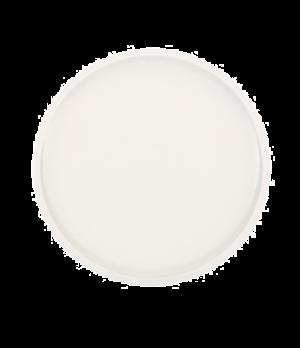 "Salad Plate, 8-1/2"" dia., round, narrow rim, white, premium porcelain, Artesano"