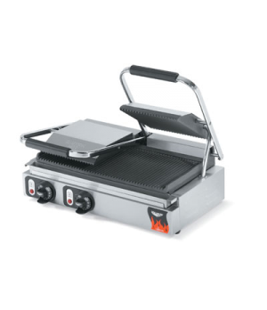 "Cayenne® Italian Panini Sandwich Press, electric, double, 22-1/2"" x 9-5/8"" fixed"
