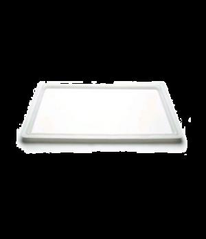 "Cover, food storage, flat, 18"" x 26"", natural white, polyethylene, NSF"