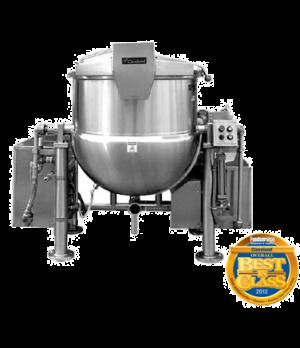 Horizontal Agitator Mixer Kettle, tilting design, 100 Gallon operating capacity,
