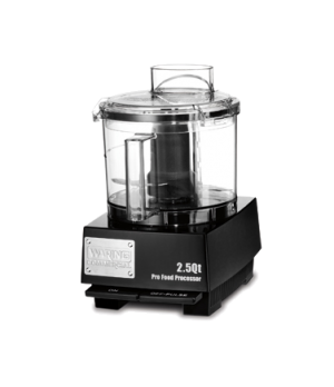 "Commercial Food Processor, 2.5 qt., vertical chute feed design, LiquiLockâ""¢ Sea"