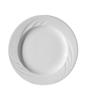 """Plate, 8"""" (20 cm), round, wide rim, scratch resistant, oven & microwave safe, di"""