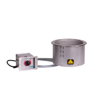 Halo Heat® Hot Food Round (Soup) Well, Drop-In, Electric, 11 quart capacity, adj