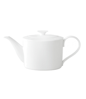 Teapot, 40-1/2 oz., with cover, premium bone porcelain, Modern Grace