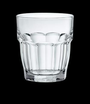 "Bar Juice Glass, 6-3/4 oz., 3"" x 3-1/4"", tempered, stackable, Bormioli, Rockbar"
