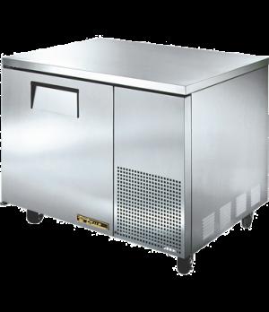 Deep Undercounter Refrigerator, 33-38° F, (2) shelves, 16 ga. stainless steel to