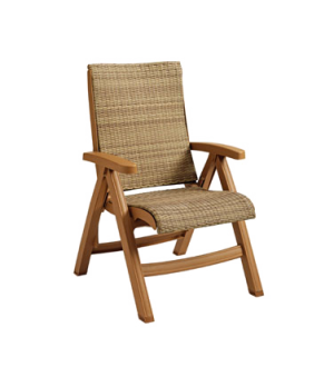Java Chaise Replacement Frame Only, all weather wicker, honey