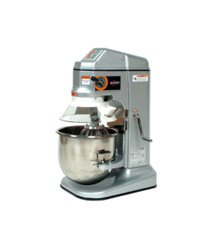 Axis Commercial Planetary Mixer, 12 qt. capacity, countertop, gear driven, (3) s