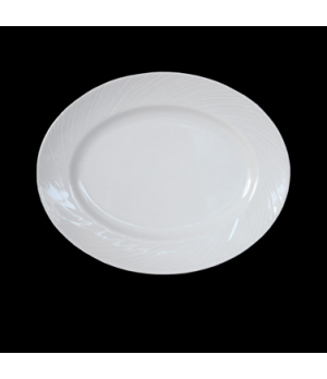 "Platter, 8"", oval, Distinction, Spyro (USA stock item) (minimum = case quantity)"