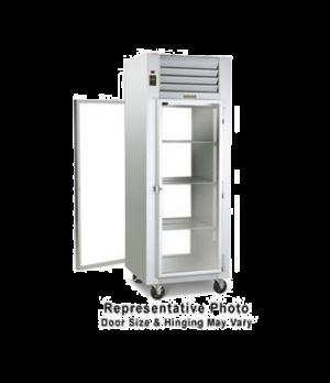 Spec-Line Refrigerator, Pass-Thru Display, One-Section, self-contained refrigera
