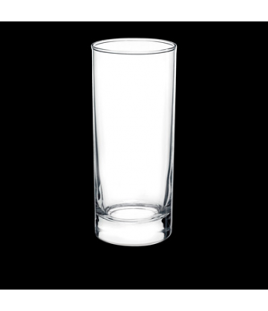 "Highball Glass, 9-1/2 oz., 2-1/2"" x 5-1/2"", tempered, Bormioli, Cortina (USA sto"