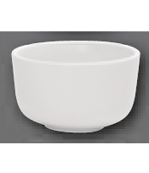"""Individual Bowl, 4"""" dia., round, oven, microwave and dishwasher safe, porcelain,"""