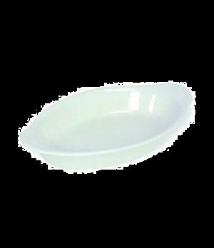 "Lasagna Baker, 12 oz., 10"" x 5-1/4"" x 1-3/4"", stoneware, white"