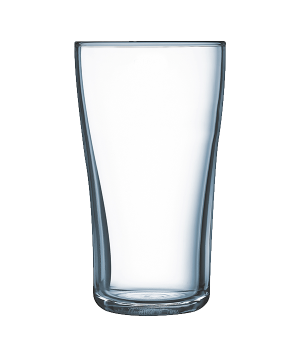 "Tumbler Glass, 19-1/4 oz., fully tempered, crystal, Arcoroc, Lipton,  (H 6-1/4"";"