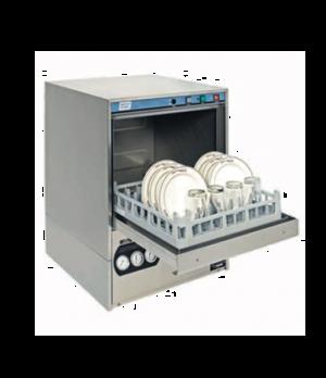 "Dishwasher, undercounter, 24""W x 25""D x 33-1/2""H, high temperature sanitizing wi"