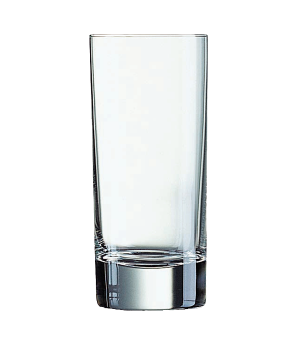 "Tumbler Glass, 7-3/4 oz., glass, Arcoroc, Islande, (H 5-1/8""; M 7-1/4"")"