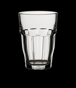 "Bar Cooler, 16-1/4 oz., 3-1/2"" x 5"", tempered & stackable glass+E4253, Bormioli,"