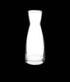 "Ypsilon Carafe, 18-1/2 oz., 3-3/8"" x 8"", crystal, non-lead, Bormioli, Ypsilon (p"