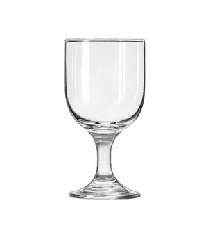 "Goblet Glass, 10-1/4 oz., Safedge® Rim and foot guarantee, EMBASSY®, (H 5-3/4"";"